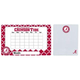 Alabama Crimson Tide Dry Erase Calendar & To-Do List Magnet Pad Set