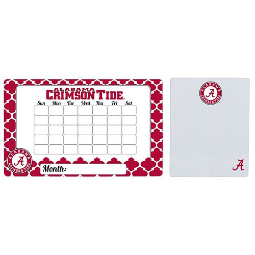 Alabama Crimson Tide Dry Erase Calendar & To-Do List Magnet Pad Set