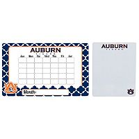 Auburn Tigers Dry Erase Calendar & To-Do List Magnet Pad Set