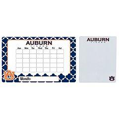 Auburn Tigers Dry Erase Calendar & To-Do List Magnet Pad Set