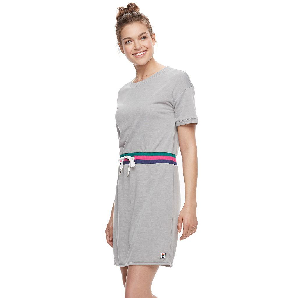 Women's FILA SPORT® French Terry Short Sleeve Dress