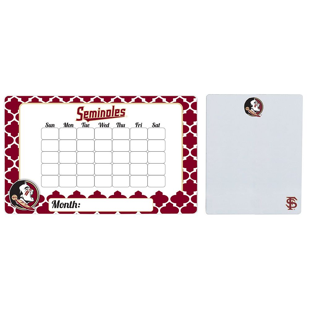 Florida State Seminoles Dry Erase Calendar & To-Do List Magnet Pad Set