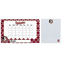 Florida State Seminoles Dry Erase Calendar & To-Do List Magnet Pad Set