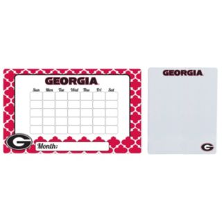 Georgia Bulldogs Dry Erase Calendar & To-Do List Magnet Pad Set