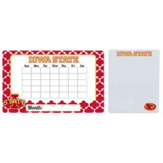 Iowa State Cyclones Dry Erase Calendar & To-Do List Magnet Pad Set