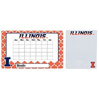 Illinois Fighting Illini Dry Erase Calendar & To-Do List Magnet Pad Set