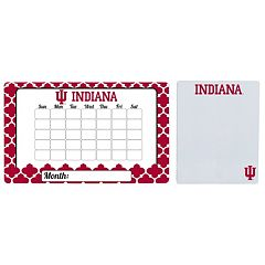 Indiana Hoosiers Dry Erase Calendar & To-Do List Magnet Pad Set