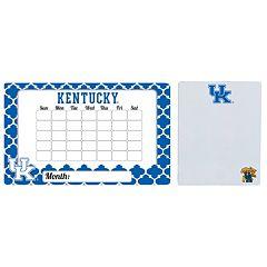 Kentucky Wildcats Dry Erase Calendar & To-Do List Magnet Pad Set