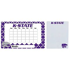 Kansas State Wildcats Dry Erase Calendar & To-Do List Magnet Pad Set