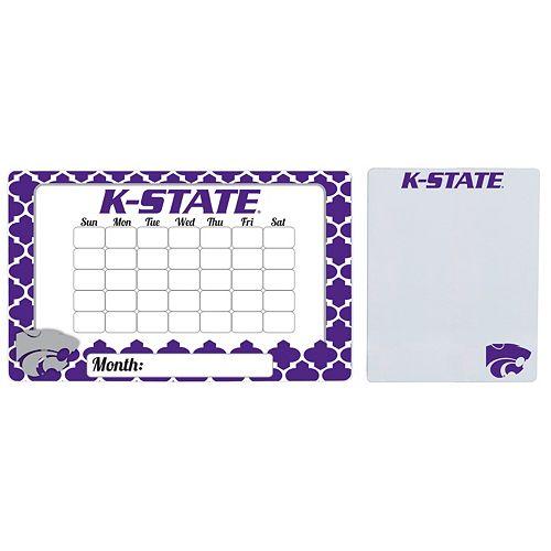 Kansas State Wildcats Dry Erase Calendar & To-Do List Magnet Pad Set