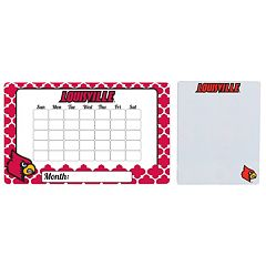 Louisville Cardinals Dry Erase Calendar & To-Do List Magnet Pad Set