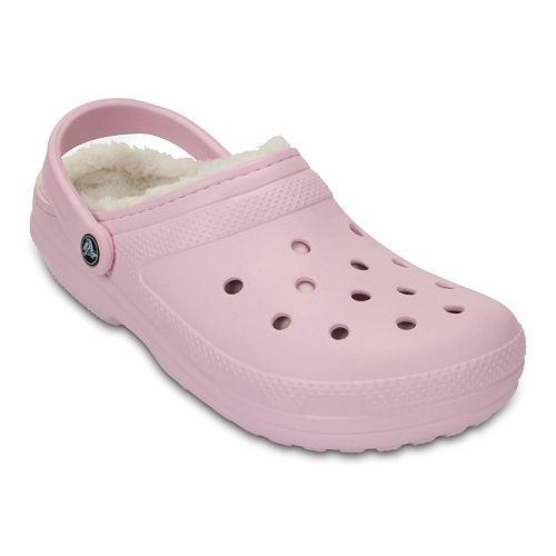 Crocs Classic Fuzz Lined Women's Clogs