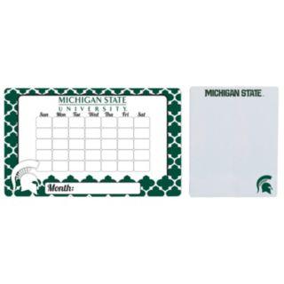 Michigan State Spartans Dry Erase Calendar & To-Do List Magnet Pad Set