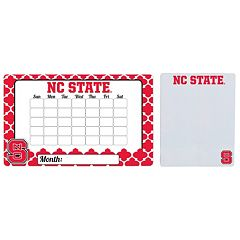 North Carolina State Wolfpack Dry Erase Calendar & To-Do List Magnet Pad Set