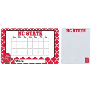 North Carolina State Wolfpack Dry Erase Calendar & To-Do List Magnet Pad Set