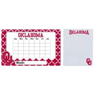 Oklahoma Sooners Dry Erase Calendar & To-Do List Magnet Pad Set