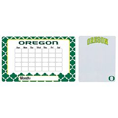 Oregon Ducks Dry Erase Calendar & To-Do List Magnet Pad Set