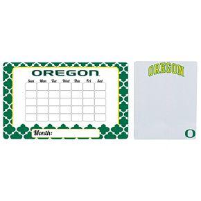 Oregon Ducks Dry Erase Calendar & To-Do List Magnet Pad Set
