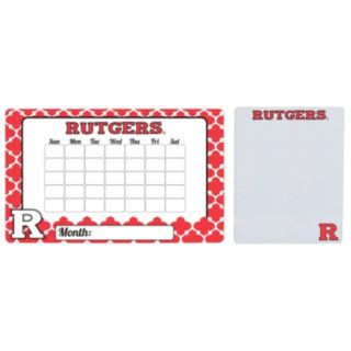 Rutgers Scarlet Knights Dry Erase Calendar & To-Do List Magnet Pad Set