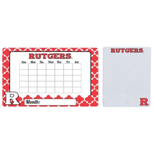 Rutgers Scarlet Knights Dry Erase Calendar & To-Do List Magnet Pad Set