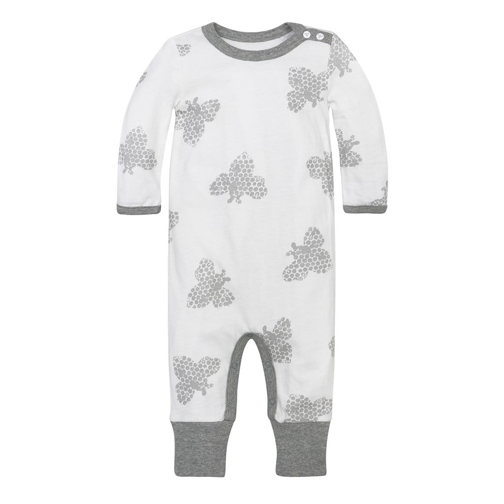 Baby Burt's Bees Baby Organic Honey Bee Coveralls