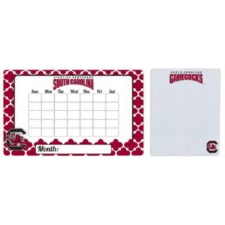 South Carolina Gamecocks Dry Erase Calendar & To-Do List Magnet Pad Set