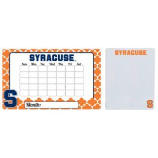 Syracuse Orange Dry Erase Calendar & To-Do List Magnet Pad Set