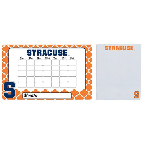 Syracuse Orange Dry Erase Calendar & To-Do List Magnet Pad Set