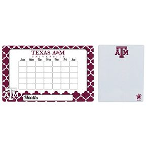 Texas A&M Aggies Dry Erase Calendar & To-Do List Magnet Pad Set