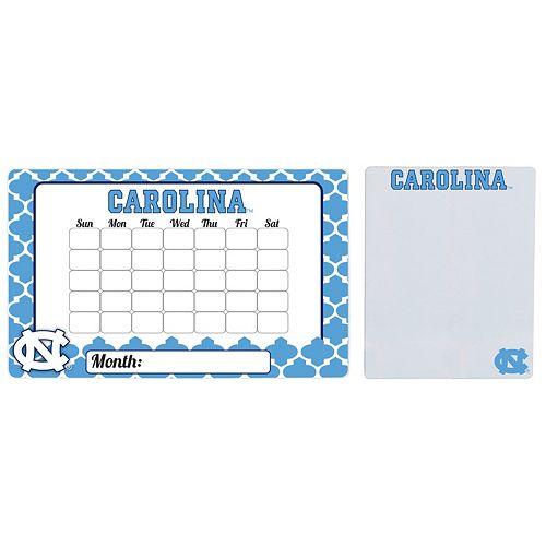 North Carolina Tar Heels Dry Erase Calendar & To-Do List Magnet Pad Set