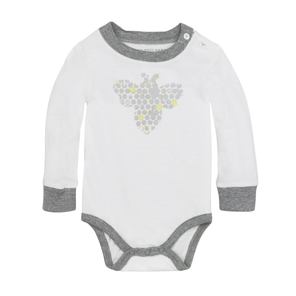 Baby Boy Burt's Bees Baby Organic Honeycomb Bodysuit & Pants Set