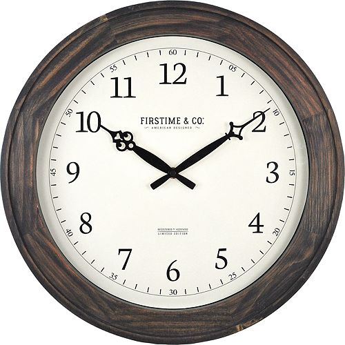 FirsTime Barnes Wall Clock