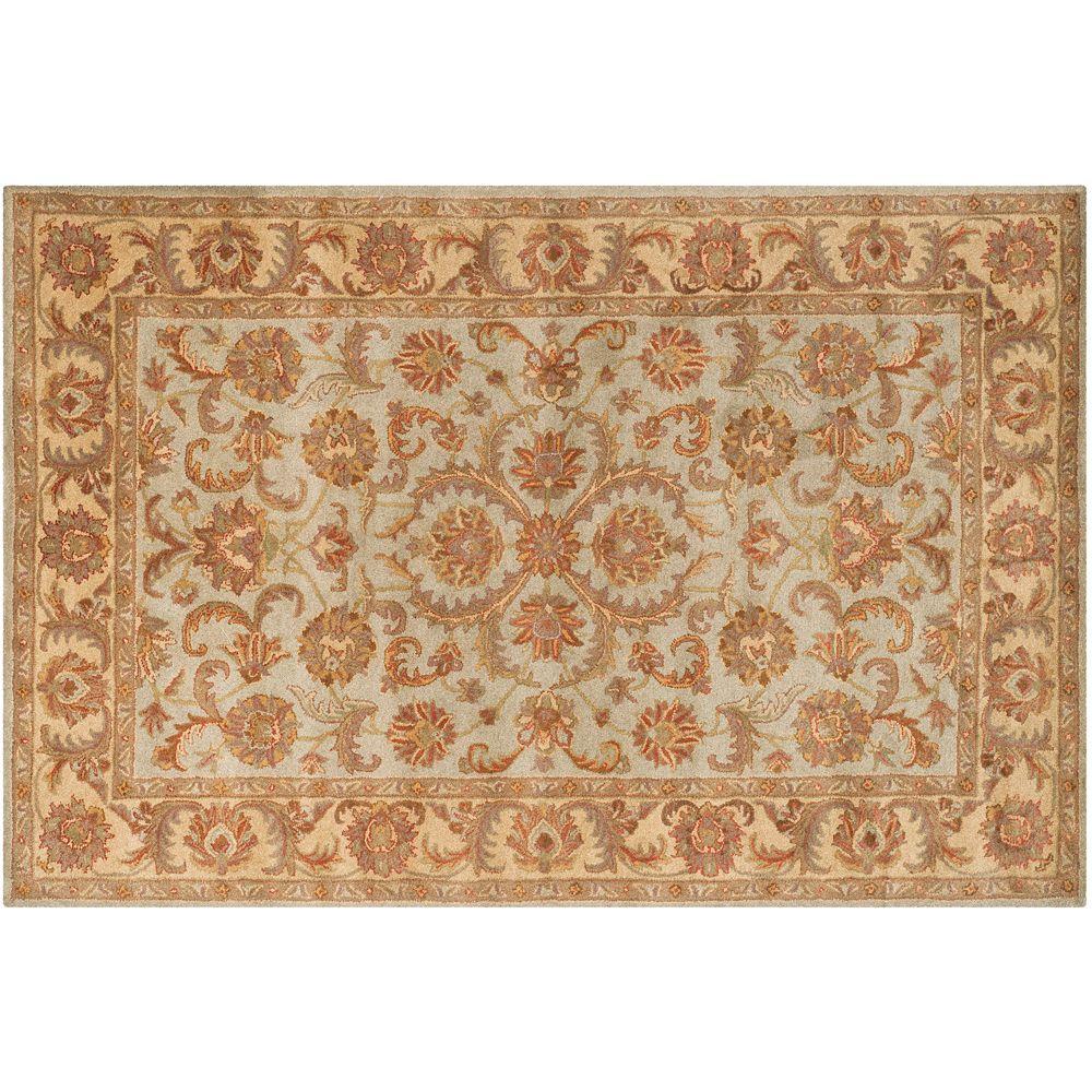 Safavieh Heritage Evora Framed Floral Wool Rug