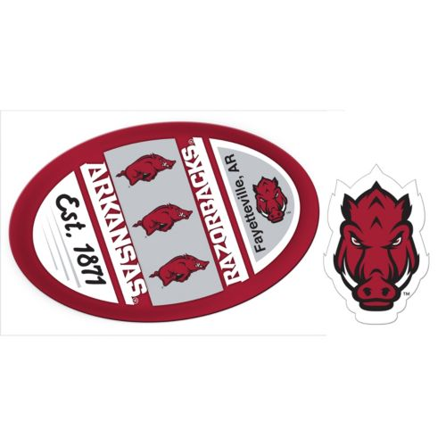 Arkansas Razorbacks Game Day Decal Set