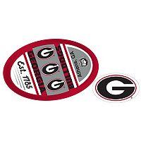 Georgia Bulldogs Game Day Decal Set