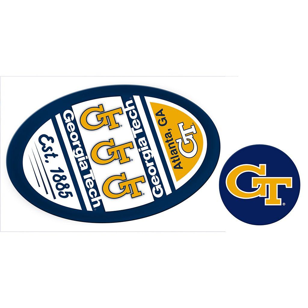 Georgia Tech Yellow Jackets Game Day Decal Set