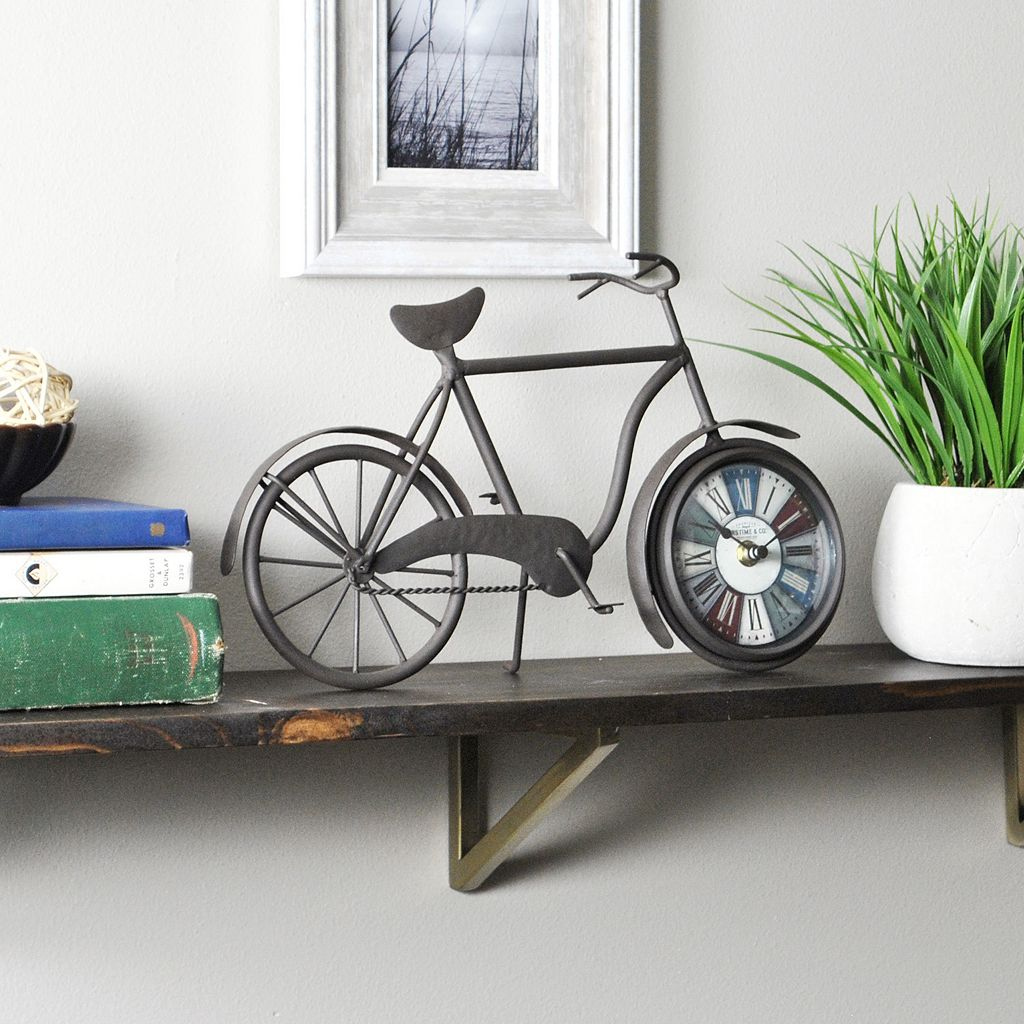 FirsTime Bicycle Tabletop Clock