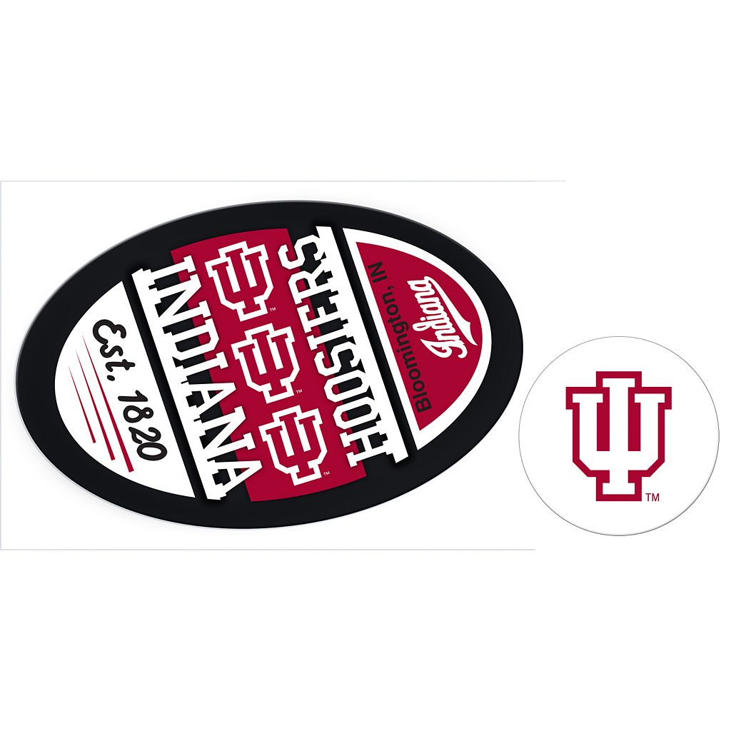 Indiana Hoosiers Game Day Decal Set