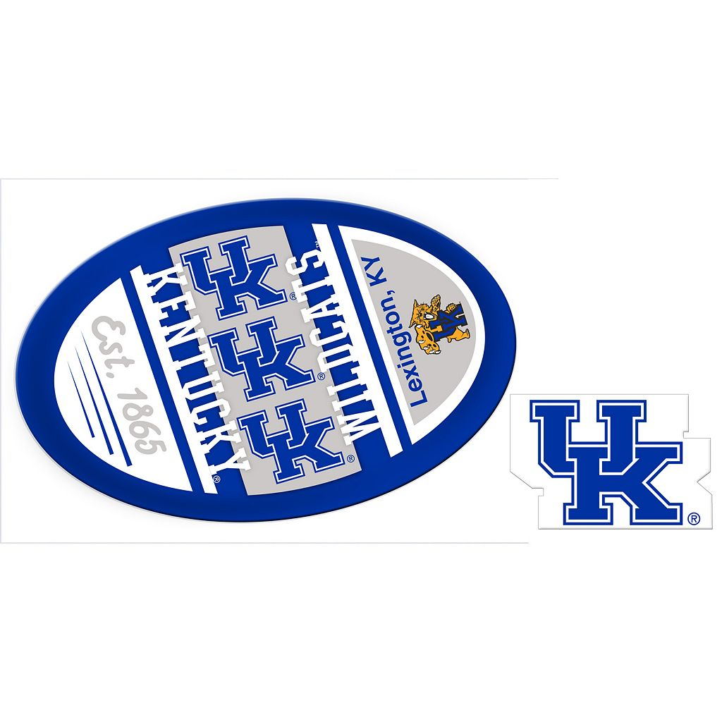 Kentucky Wildcats Game Day Decal Set