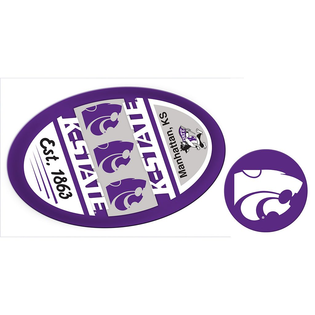 Kansas State Wildcats Game Day Decal Set