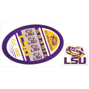 LSU Tigers Game Day Decal Set