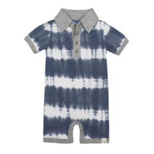 Baby Boy Burt's Bees Baby Organic Tie-Dye Polo Shortalls