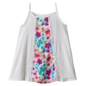 Toddler Girl Jumping Beans® Gauze Swing Tank Top