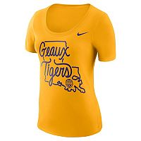 Women's Nike LSU Tigers Local Elements Tee