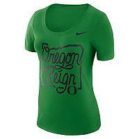 Women's Nike Oregon Ducks Local Elements Tee