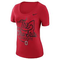 Women's Nike Ohio State Buckeyes Local Elements Tee