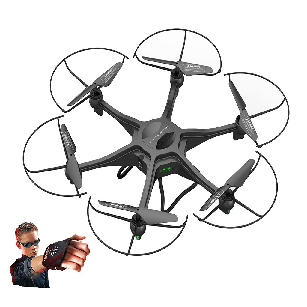 Force Flyers Adventurer 47cm Motion Control WiFi Camera Drone by PaulG Toys