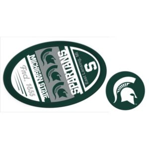 Michigan State Spartans Game Day Decal Set