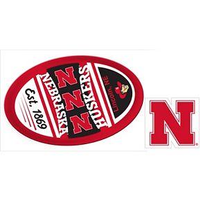 Nebraska Cornhuskers Game Day Decal Set