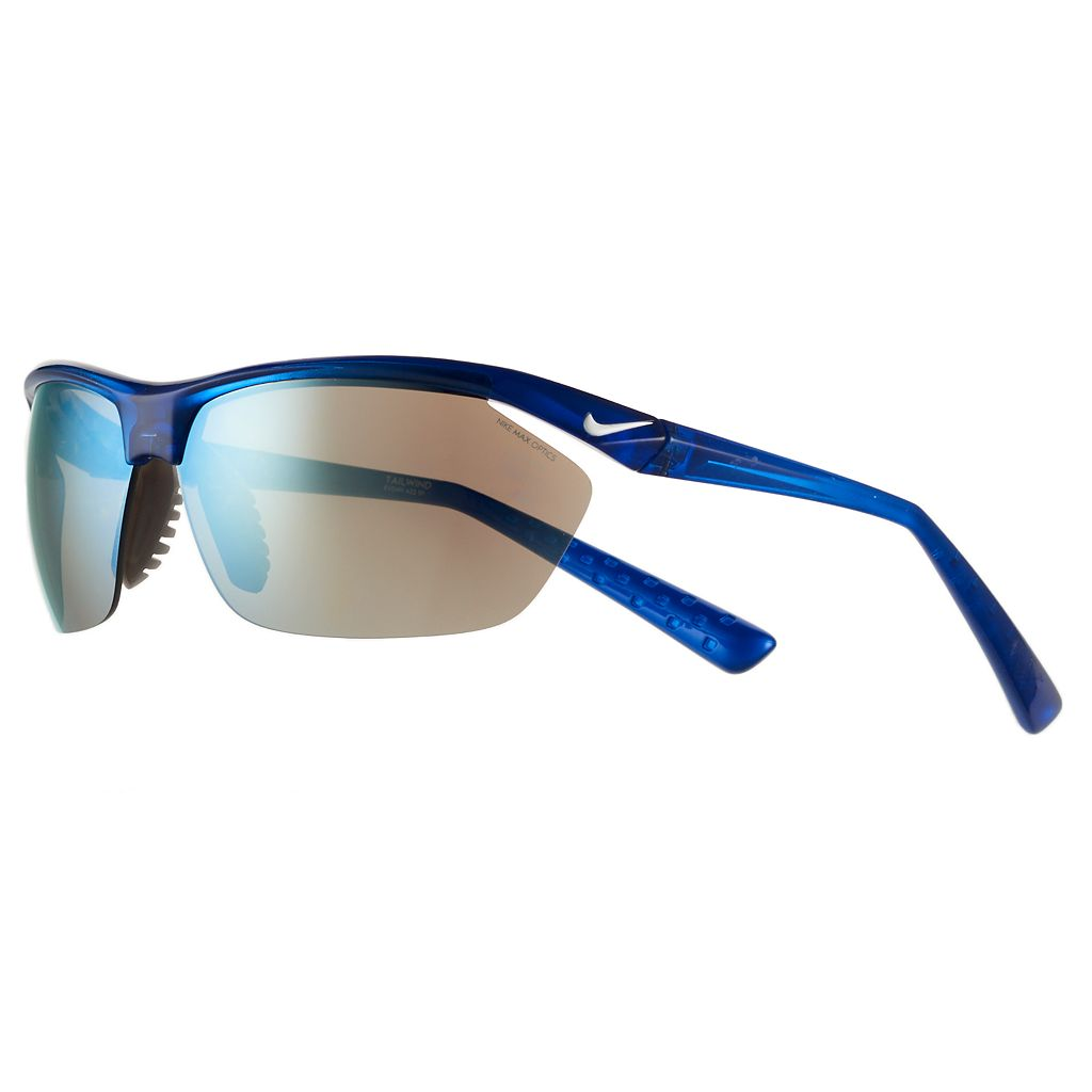 Men's Nike Tailwind Semirimless Wrap Sunglasses